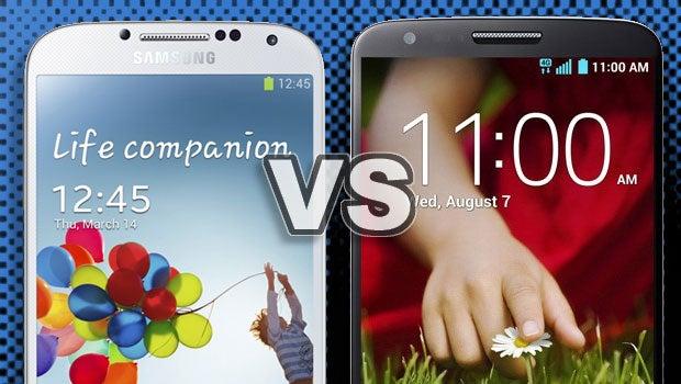 Galaxy S4 vs LG G2