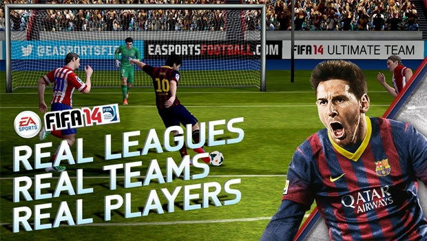FIFA 14 app for iOS and Android