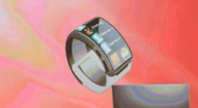 Is this the final Galaxy Gear design?