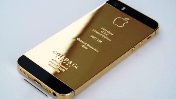 24 Carat gold iPhone 5S