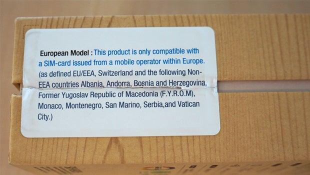 Samsung Galaxy Note 3 region locked