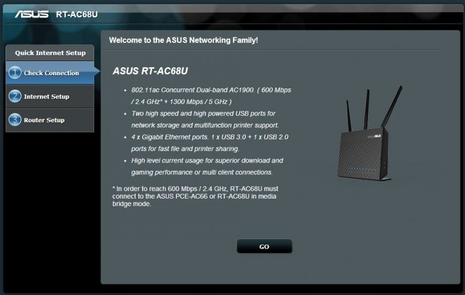 Asus Rt Ac68u Ac1900 802 11ac Router Review Trusted Reviews