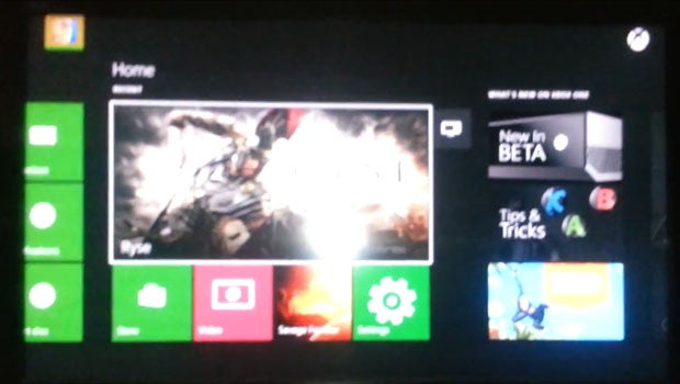 Xbox One dashboard leak