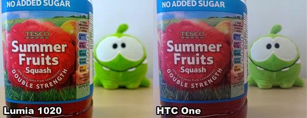 1020 vs HTC One