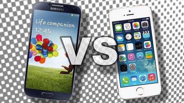 9b3e2a17578349 iPhone 5S vs Galaxy S4
