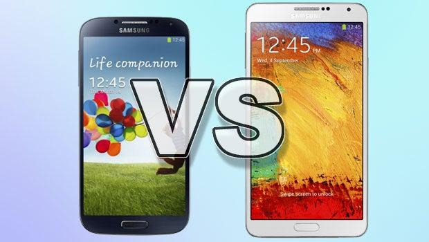 Galaxy S4 vs note 3