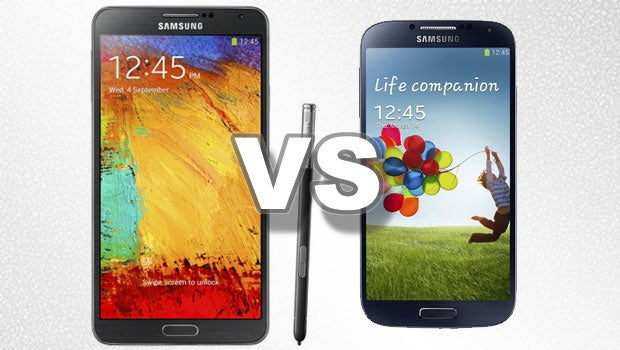 samsung galaxy s4 vs note 3 trusted reviews. Black Bedroom Furniture Sets. Home Design Ideas