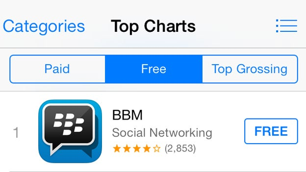 BBM for iPhone