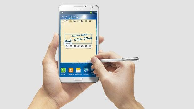 Samsung Galaxy Note 3 apps