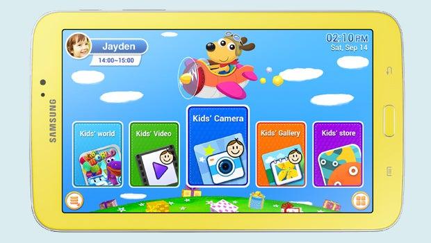 Samsung Galaxy Tab 3 Kids (no bumper)