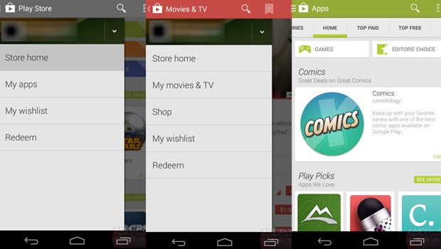 google play store for android 4.4.2