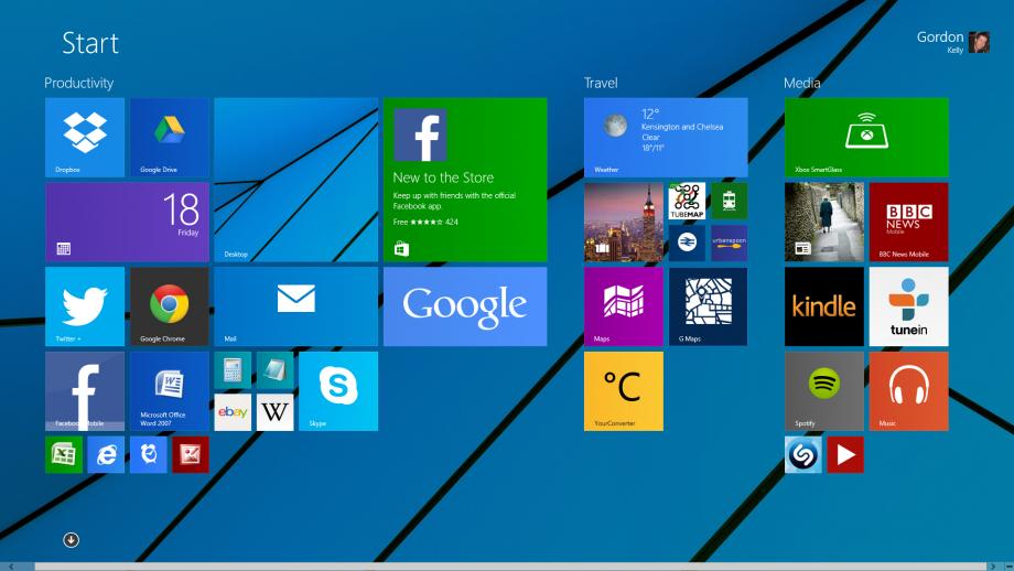 Windows 8 Modern UI