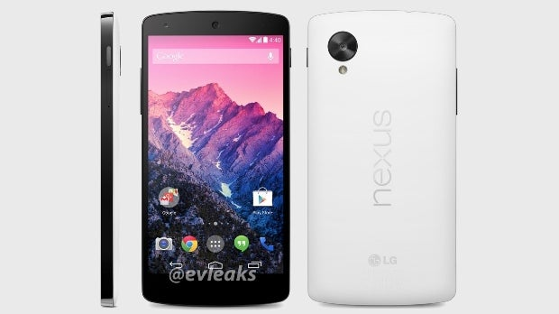 Google Nexus 5 could be set to launch November 1 in white | Trusted Reviews