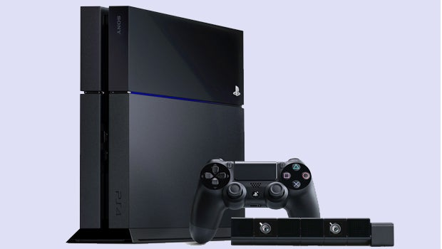 PS4, PlayStation Camera and DualShock 4 controller
