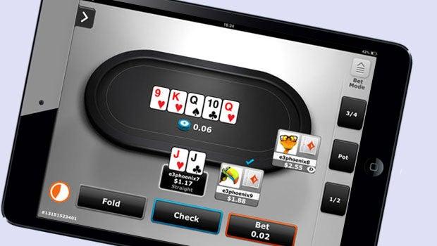 Party Poker iPad app