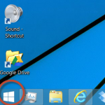 Windows 8 Start Button
