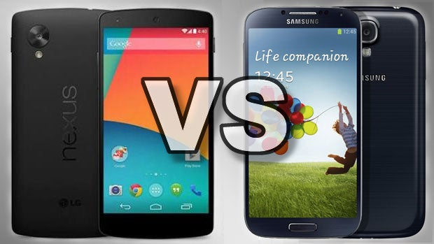 Nexus 5 vs Samsung Galaxy S4: Which Android phone to buy? | Trusted Reviews