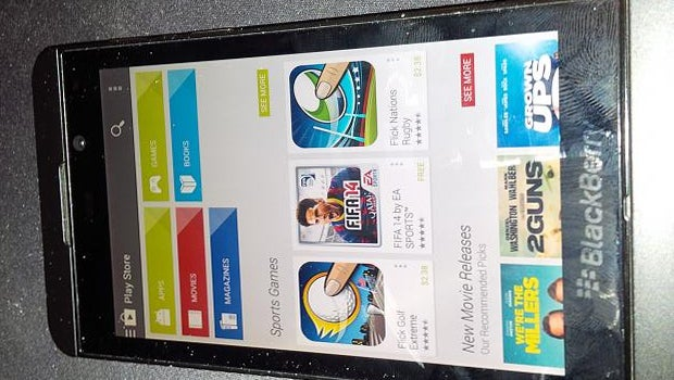 BlackBerry 10.2.1 with Google Play Store