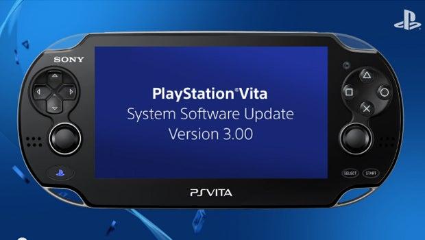 PS Vita 3.00 system update