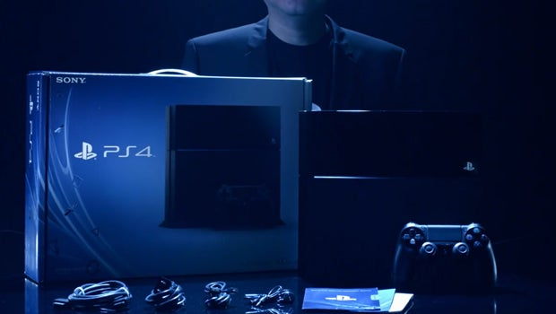 PS4 unboxing