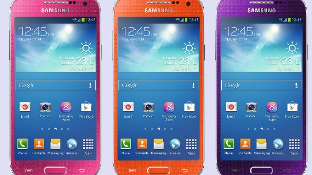 Samsung Galaxy S4 Mini colour range launches at Carphone Warehouse