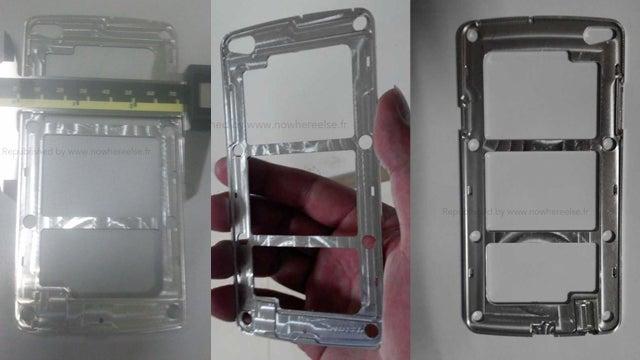 Samsung Galaxy S5 - the metal frame