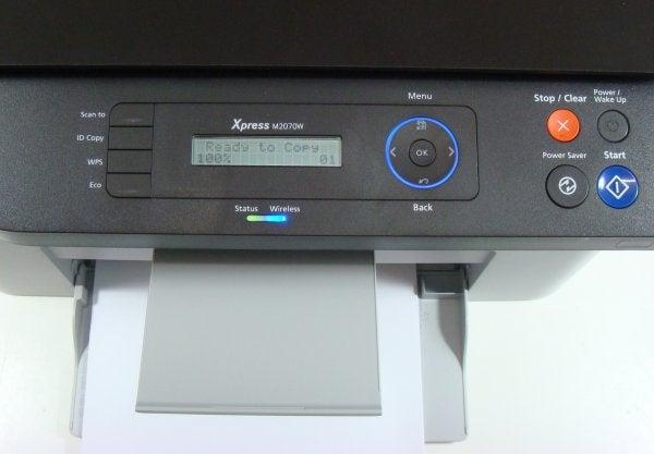 Samsung Xpress M2070W - Controls