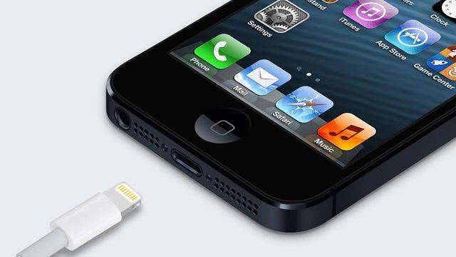 Apple lightning charger