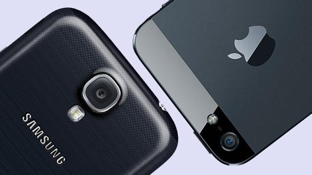 Apple vs Samsung.