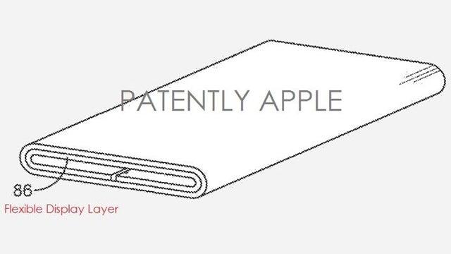 Apple's wraparound display tech