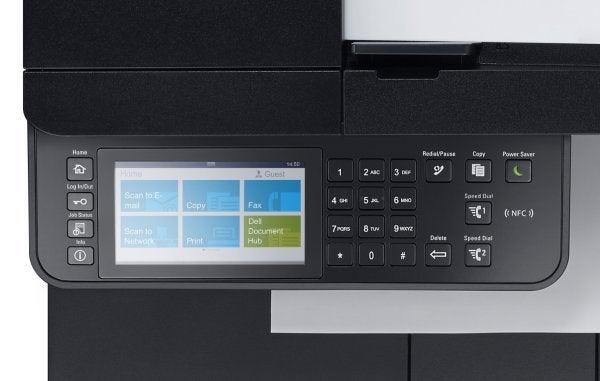 Dell C2665dnf - Controls