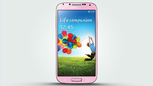Pink Samsung Galaxy S4