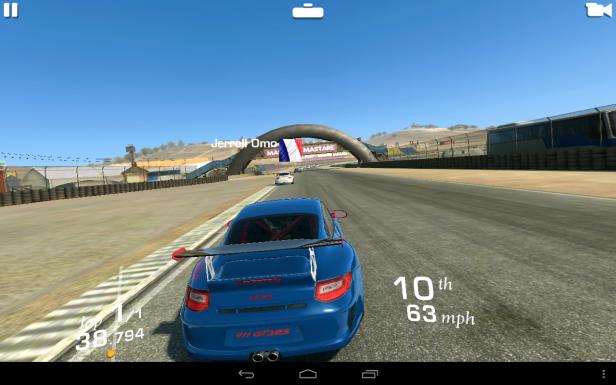 Lenovo Yoga Tablet 10 game performance
