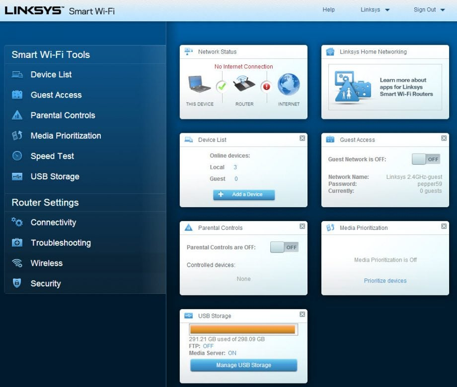 Linksys EA6900 AC1900 router Review | Trusted Reviews