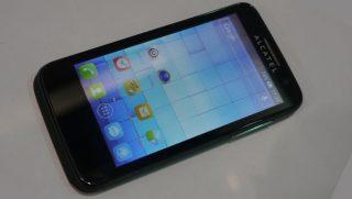 Alcatel solar phone