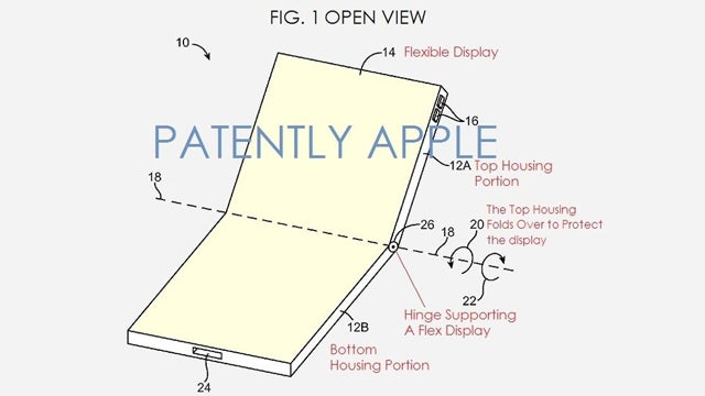 Apple flexible iPhone display patent discovered | Trusted Reviews