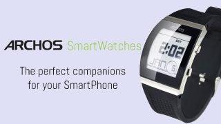Archos smartwatch teaser