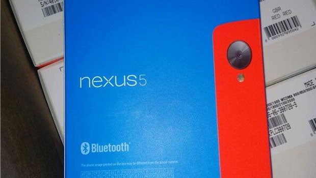 Red Google Nexus 5