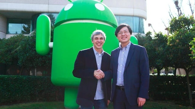 Google Lenovo