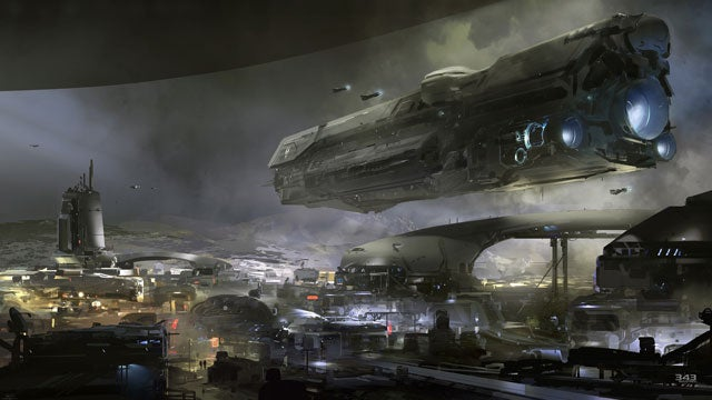 Halo 5 concept art from