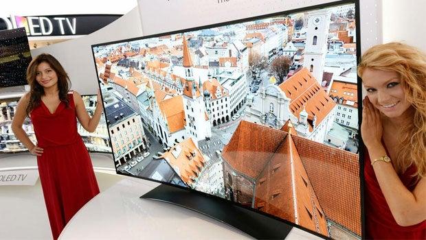 77-inch LG TV