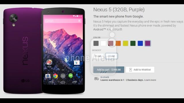 Neuxs 5 colour range