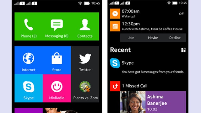 Nokia Android phone UI leaked in new images, launch date teased | Trusted Reviews