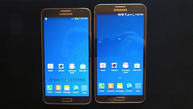 Samsung Galaxy Note 3 Neo and the Galaxy Note 3