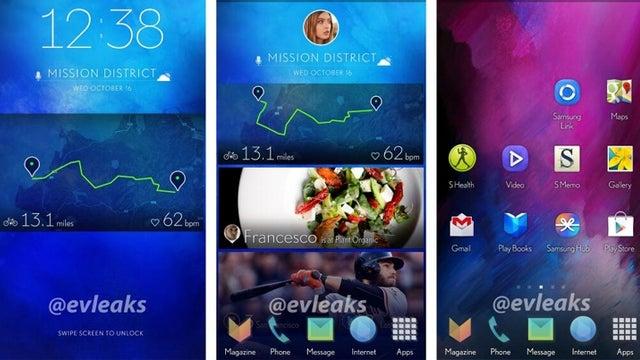 Samsung Galaxy S5 UI