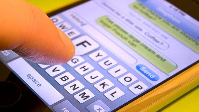 Text message iPhone