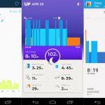 Vivofit Sleep tracking