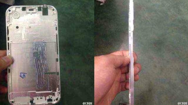 iPhone 6 frame leak
