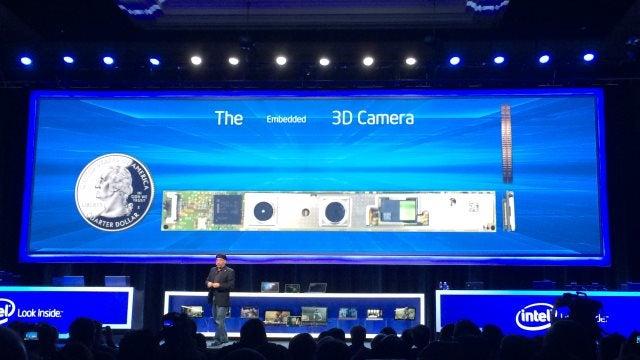 3D RealSense camera