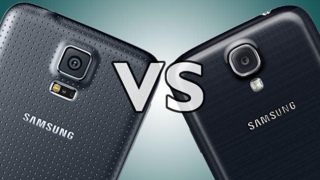 samsung galaxy s5. samsung galaxy s5 vs s4: should you upgrade?